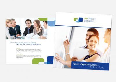 Prospekt für Unternehmensberatung