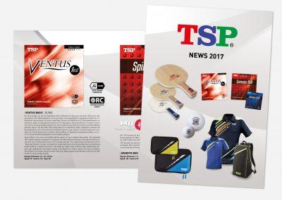 TSP Neuheitenflyer 2017