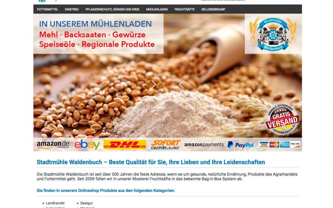 Onlineshop Stadtmühle Waldenbuch