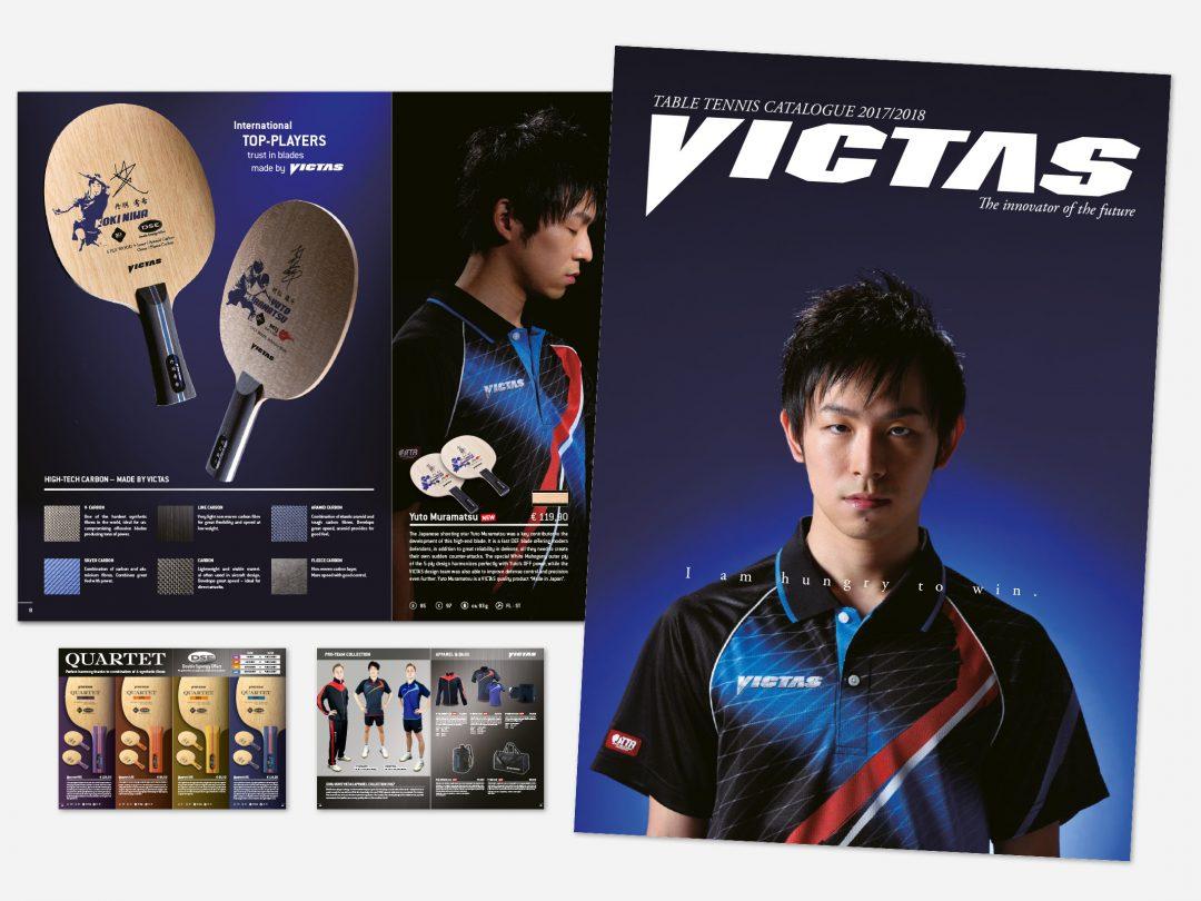 VICTAS Produktkatalog 2017-18 (englisch)