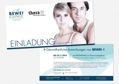 Einladungsflyer Vortrag BEWEI-Lounge Gerlingen