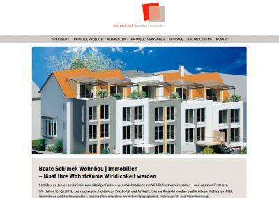 Beate Schimek Wohnbau Immobilien