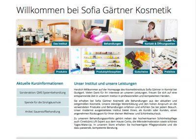 Sofia Gärtner Kosmetik